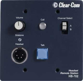 Intercom Headset Station, 2 Channel