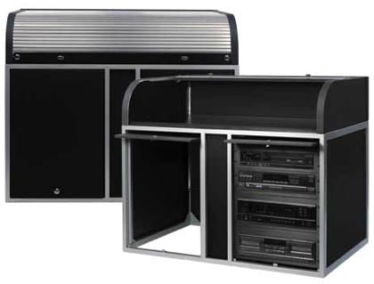 Elite Roll Top Rack Steel Blk