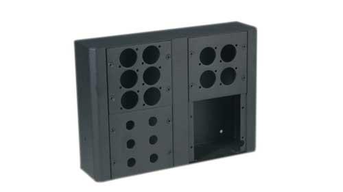 Modular wall box, 2 panel