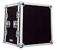 Shock Mount Rack Case w/ Wheels, 12 RU