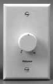 Attenuator 100W 70V White