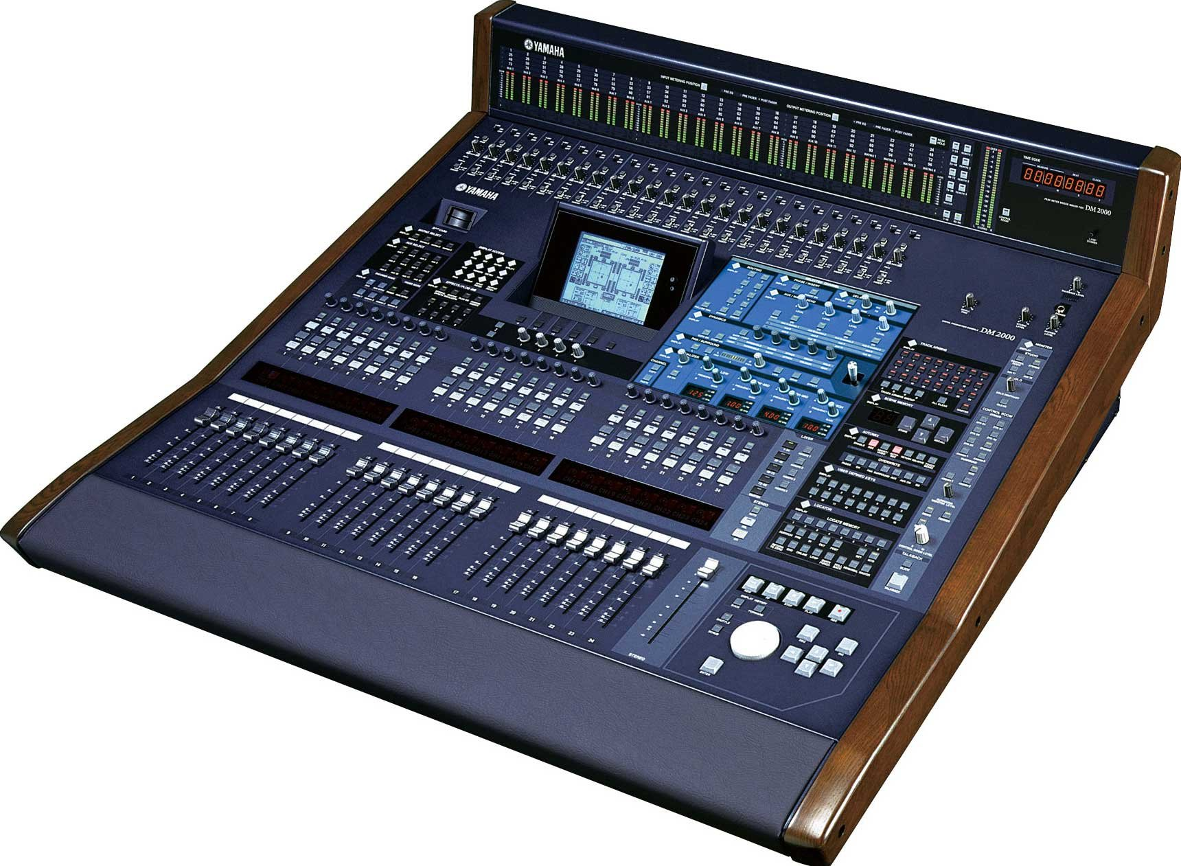 Yamaha DM2000VCM Digital Recording Console, 24 Faders, Verwion 2 featuring Pre-Installed Add-On Effects, DM2000V2-VCM DM2000V2-VCM