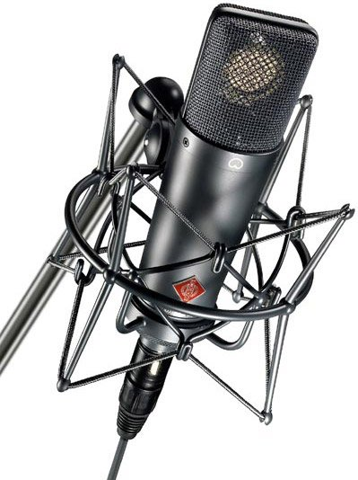 Large Diaphragm Cardioid Microphone with Mount & Case