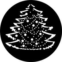 Rosco Laboratories 77227 Gobo Christmas Tree Complete 77227