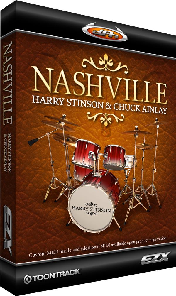 Nashville Expansion for EZdrummer/Superior Drummer (Electronic Delivery)