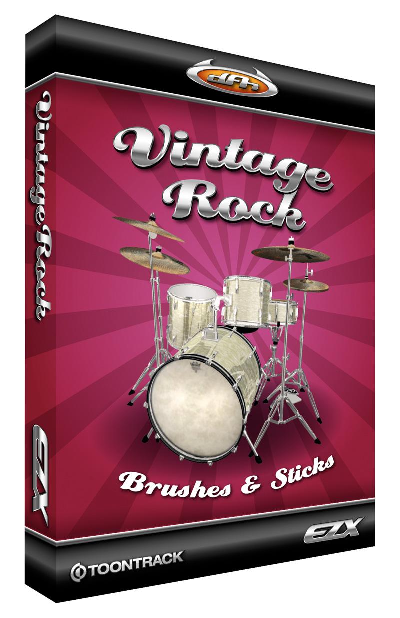 Vintage Rock Expansion for EZdrummer/Superior Drummer
