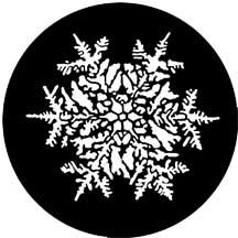 Rosco Laboratories 77771 Gobo Snowflake 77771