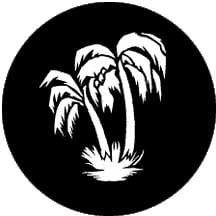 Rosco Laboratories 77838 Gobo Palm Tree 77838