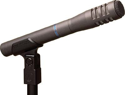 Audio-Technica AT8033 Condenser Microphone, Small Diaphragm, Cardioid AT8033