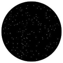 Rosco Laboratories 79005 Gobo Nightsky 1 79005