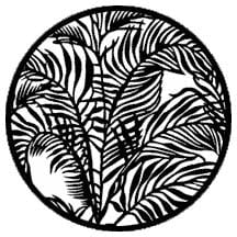 Gobo Tropical Leaves