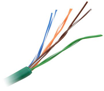 Piico Skew CAT5 Cable, 100 Meters