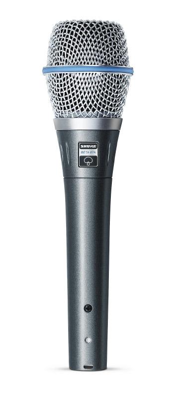 Shure BETA 87A Supercardioid Condenser Handheld Microphone BETA87A