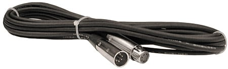 DMX Lighting Cable, 5-Pin Male to 5-Pin Female (3 Feet)