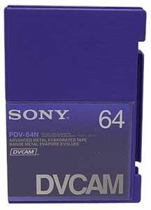 Tape DVCAM w/o Chip 64min (Pro)