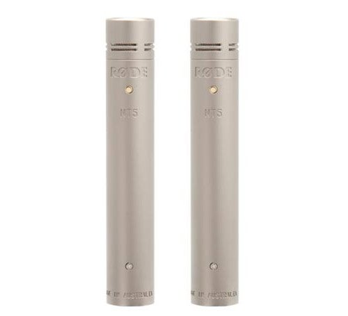 Matched Pair of Cardioid Condenser Microphones