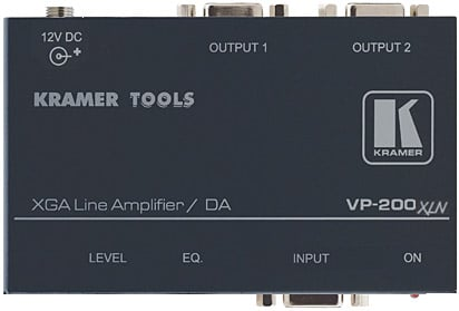 1:2 Computer Graphics Video Line & Distribution Amplifier