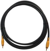 Cable, RCA Male - RCA Male, 25 Feet