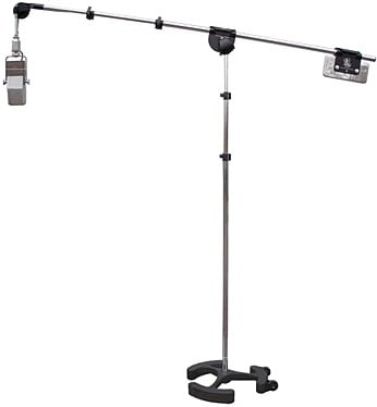 3.5'-9.5' Microphone Boom Stand in Chrome