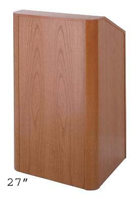 """Lectern, 36"""" Wide Natural Cherry"""
