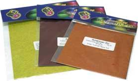 """Gel Sheet, Pre-Cut, 8""""x8"""", 4 Colors (Magenta, Congo Blue, Light Green & Aqua)"""