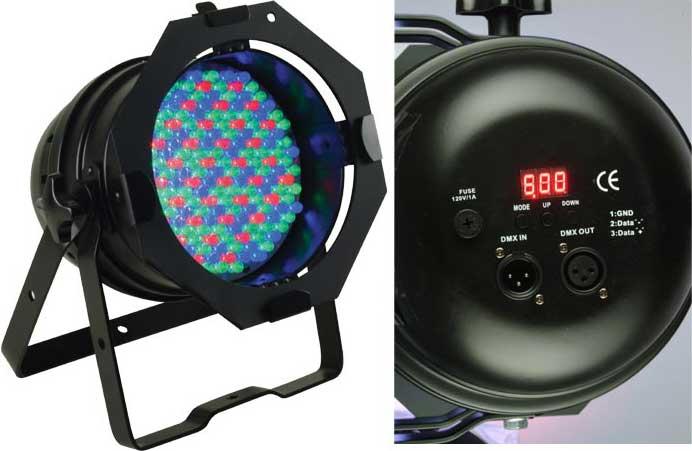 PAR64 LED Pro Fixture in Black