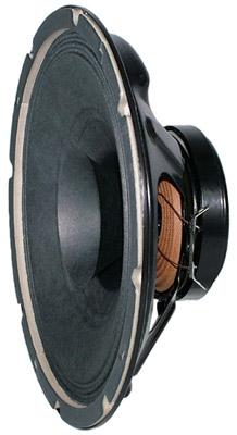 "8"" Dual Cone Loudspeaker (Black)"