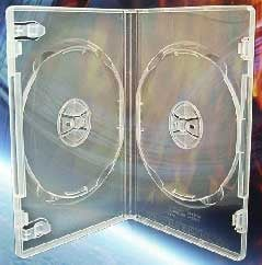 DVD Album, Dual, Clear with Overwrap