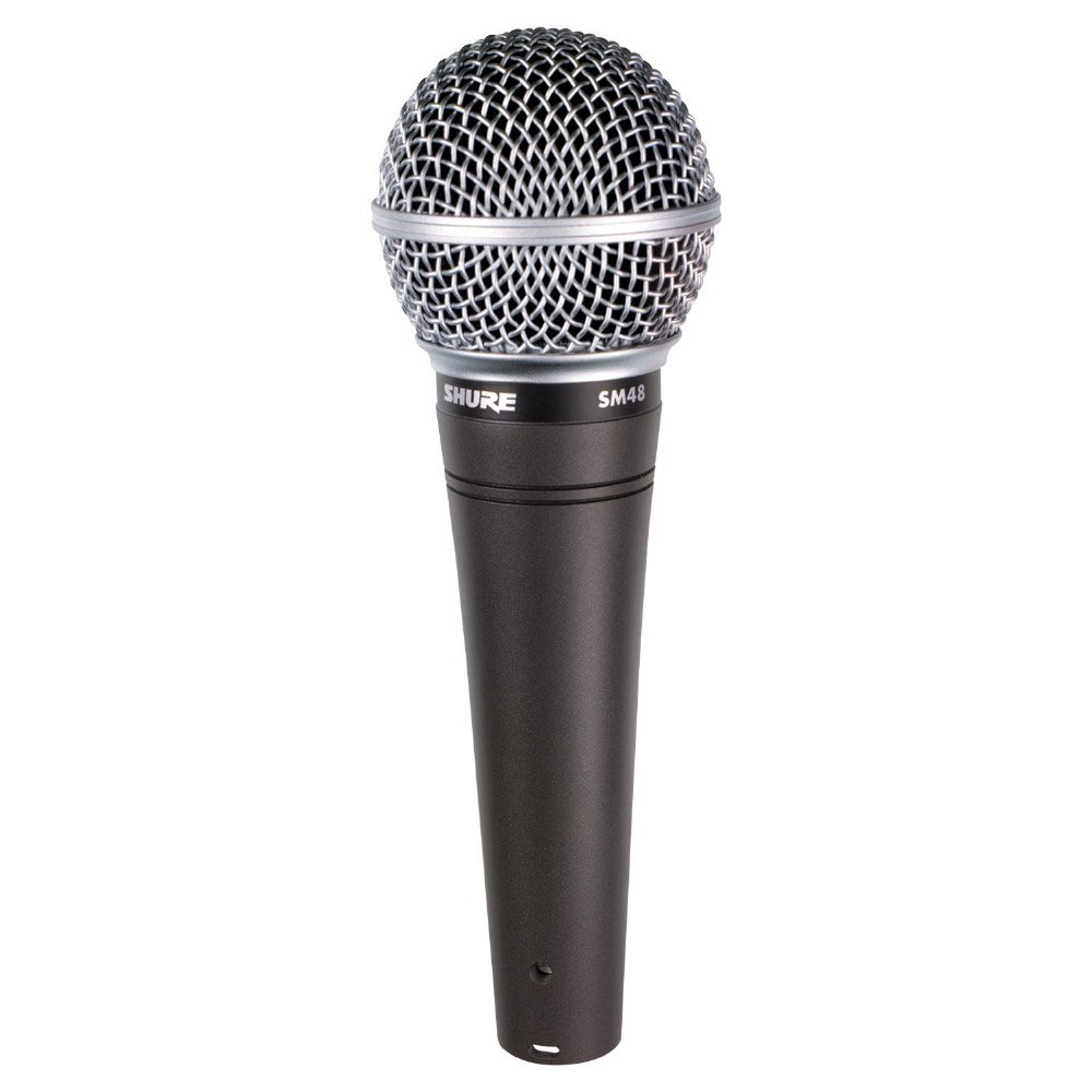 shure sm48lc dynamic cardioid microphone full compass. Black Bedroom Furniture Sets. Home Design Ideas