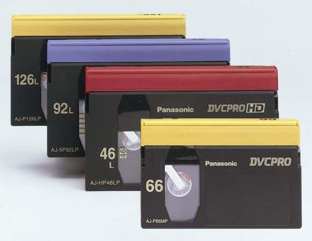 Large DVCPRO Cassette 66 min