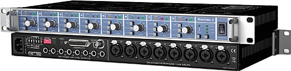 RME OCTA-MIC-II 8-Channel Mic Preamp with A/D Converter OCTA-MIC-II