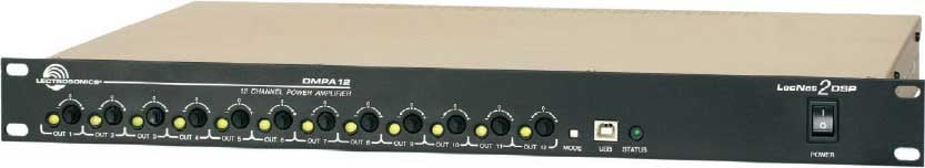 DSP and Digital Power Amp w/ 12 Channel Output