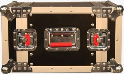 Gator Cases G-TOUR-EFX-6 6RU Shallow Rack-Mount ATA Road Case G-TOUR-EFX-6