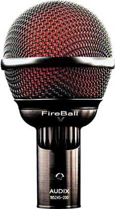 Audix FIREBALL-V Dynamic Cardioid Harmonica Microphone with Volume Knob FIREBALL-V