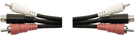 Hosa VSR302 Triplex A/V Cable, 6.6ft VSR302