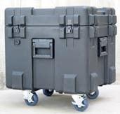 Rotomolded Mil-Standard Waterproof Case 22x22x20 Empty