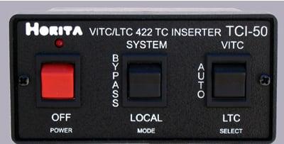 Horita TCI-50 VITC/LTC Reader/RS-422 Inserter | Full Compass