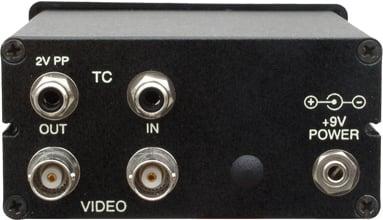 Time Code Video Clock Display