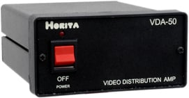 2x3 or 1x6 Video Distribution Amplifier