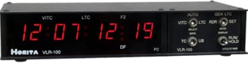 VITC/LTC Reader/LTC Generator/LED Display