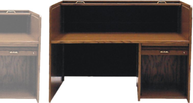 """4"""" Extra Height Add On Option for Rolltop Desk"""