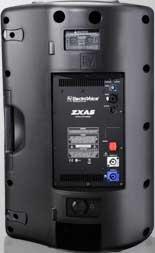 """Active Speaker, 15"""", 2-way, 90°x50°, 1,000W LF, 250W HF, Black"""