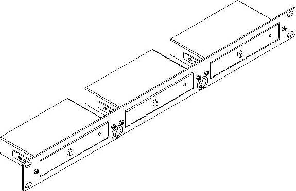"19"" 1RU Rack Adapter for 3 TOOLS™"