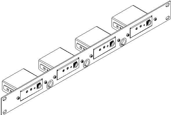 19 Rack Adapter By Kramer Rk 4pt