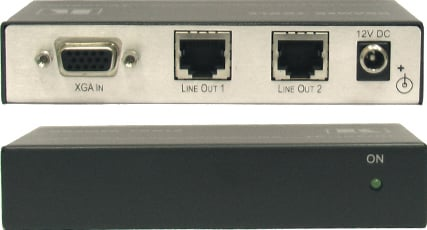 VGA & HDTV Over Twisted Pair Transmitter