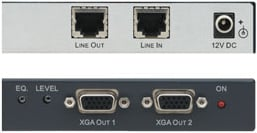 XGA & HDTV Over Twisted Pair Branch Receiver