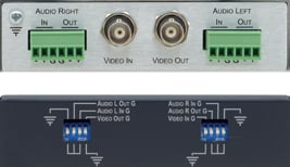 Video/Balanced Stereo Isolation Transformer
