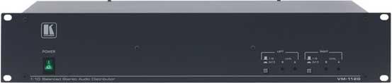 1:20 Balanced Mono Audio Distributor