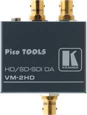 1:2 SDI & HD-SDI Video Distribution Amp
