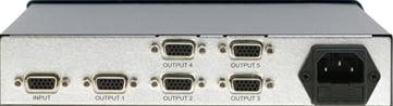 1:5 XGA Distribution Amp